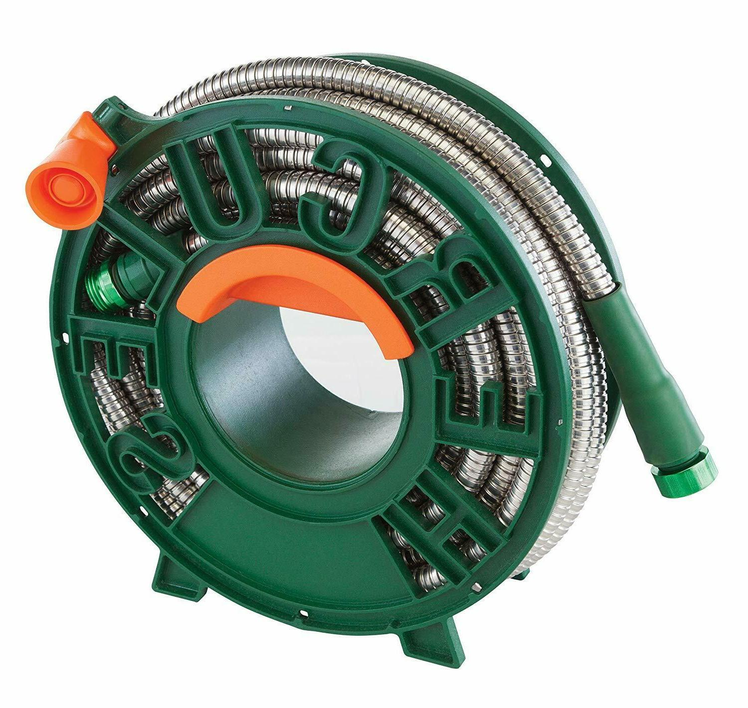 Stainless Hose Heavy Duty Comes Reel 25 Feet KINK