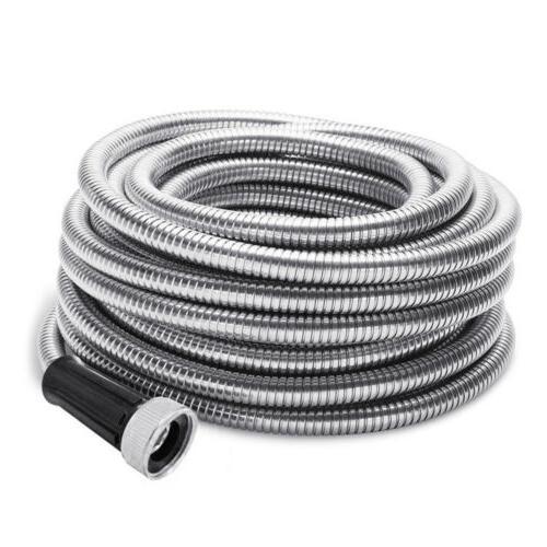 stainless steel metal garden hose water 50