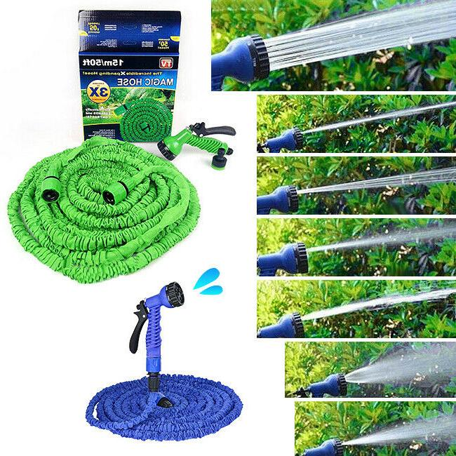 US! 50-200FT Flexible Water Pipe Hose
