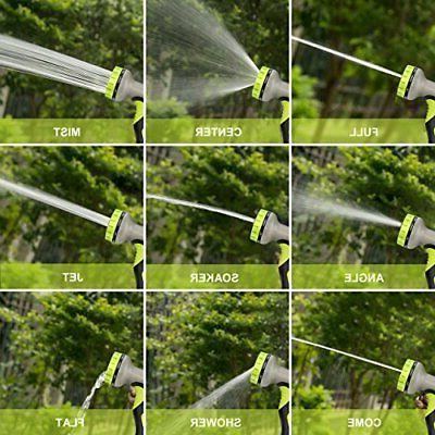 VicTsing Garden Hose Hose Spray 9 Patterns,