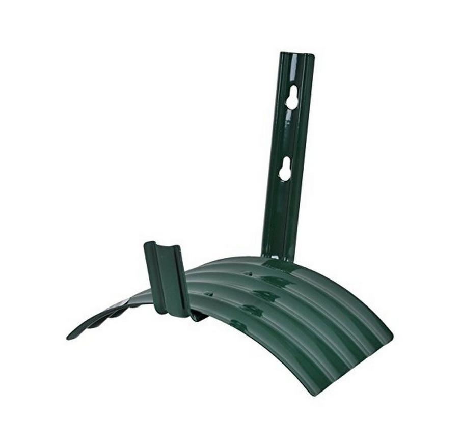 Wall Mount Garden Water Hose Reel Hanger Holder Rack Green M
