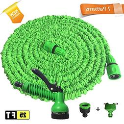 SUZM Magic Expandable Latex Garden Hose Retractable Pipe wit