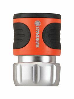 GARDENA Metal Alloy Hose Connector with Water Stop