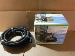 NEW AQUASCAPE ULTRA 2000 FOUNTAIN & POND PUMP MODEL 91010 WI