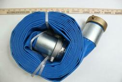 """Pack of 1 - Apache Hose PVC Lay Flat Discharge Hose 3"""" x 25'"""