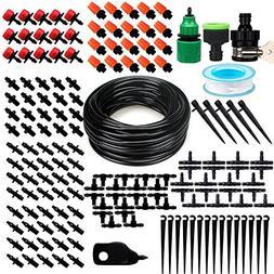 "moistenland Patio Plant Watering Kit,50ft 1/4"" Blank Distrib"