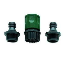 Orbit 56458-15 Plastic Garden Hose Faucet Quick Connect Set