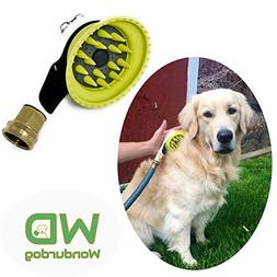 Wondurdog Quality Outdoor Dog Shower with All Metal Adapter