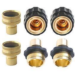 Quick Release Garden Hose connectors Set