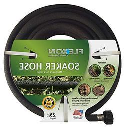 Flexon Soaker Garden Hose 1/2-in x 25-ft Gardening Landscapi