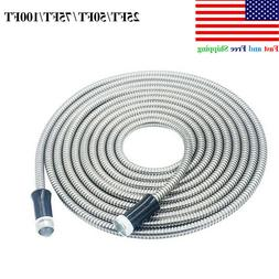 Stainless Steel garden hose Water Pipe Flexible Lightweight