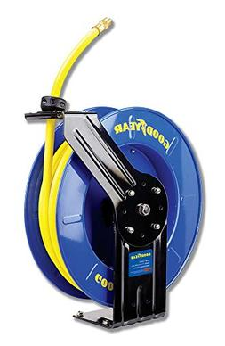 Goodyear Steel Retractable Air Compressor/Water Hose Reel Ru