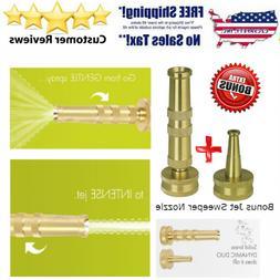 Sun Joe SJI-4BHNC Ultimate Solid Brass, Heavy Duty Adjustabl