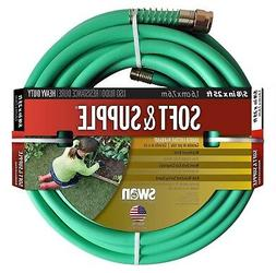 Swan Soft Supple 5/8X25' Reinf Rubber/Vinyl Garden Hose