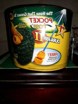 Pocket Hose Ultra Expandable 3X Stronger 50 Ft Garden Lawn w