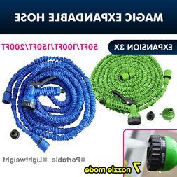 US! 50-200FT 3X Expandable Flexible Multi-function Garden Wa