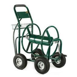 XtremepowerUS Garden Water Hose Reel Cart 300 FT Outdoor HD