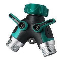 """Y"" Garden Hose Connector Kit Splitter 2-Way Connector Water"